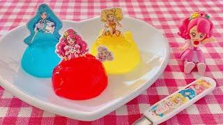 Precure Dress Jelly Dolls (Healin' Good Pretty Cure DIY Kit) | OCHIKERON | Create Eat Happy :)