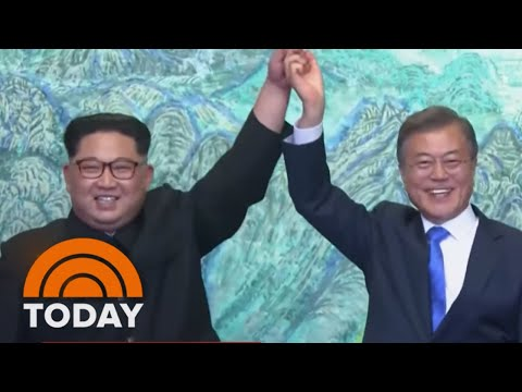 North And South Korea Agree To Formally End The Korean War | TODAY
