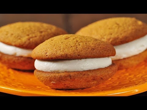 Pumpkin Whoopie Pies Recipe Demonstration - Joyofbaking.com