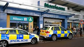 Bomb threat sees hundreds of shopper's evacuated from Morrisons in Norwich