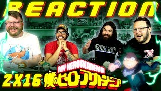 My Hero Academia [English Dub] 2x16 REACTION!!