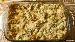 Lasagnes au Poulet, Béchamel et légumes