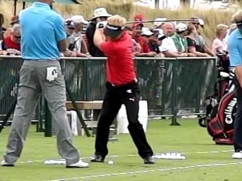 Soren Kjeldsen golf swing slow motion PGA Championships