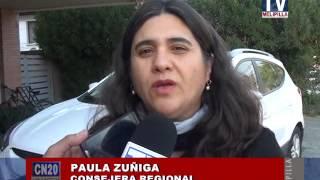 08 JUNIO 2015 CORE PAULA ZUÑIGA DESTACA CONVENIOS COMISION RURAL