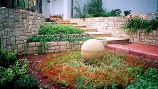 Ландшафтный дизайн. Сад в стиле модерн на Подмосковной усадьбе. Garden modern.
