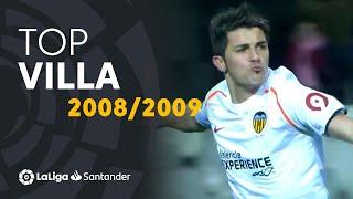 TOP Goles David Villa LaLiga Santander 2008/2009