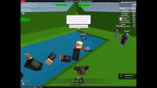 ROBLOX Glitches - Flying, talking torso!