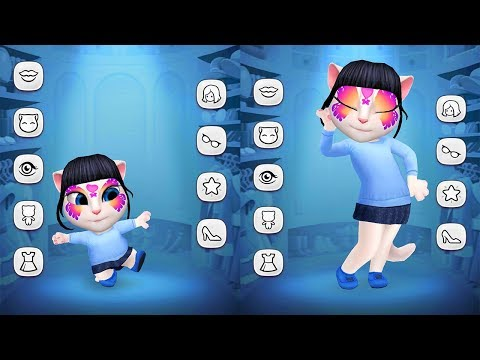 My Talking Angela Gameplay - BABY vs ADULT - Great Makeover For Children HD