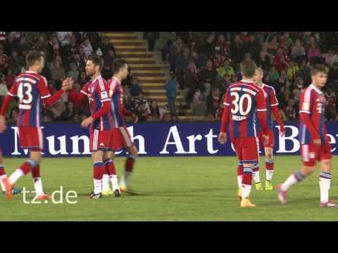 Xabi Alonso: Sein erstes Tor für den FC Bayern München / First Goal for FC Bayern Munich
