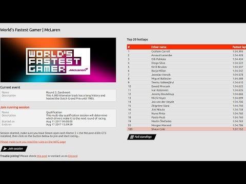 Worlds Fastest Gamer - Round 2 - Live