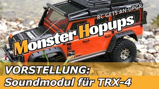 Sense Innovationen DUAL Plus Engine Motor Soundmodul für WRAITH Traxxas TRX4