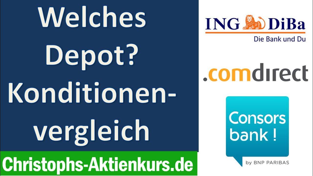 Aktien Depot Vergleich