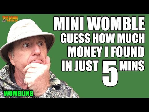 My 5 minute mini Womble at Morrisons and Tesco