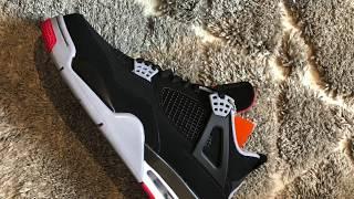 d42ba14de78664 Bred 4 Review + On Feet (2019)