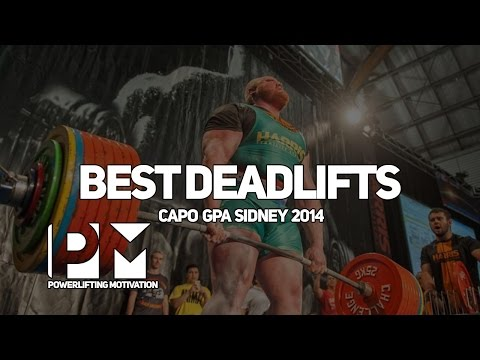 Best lifts from GPA Worlds Sydney - compilation