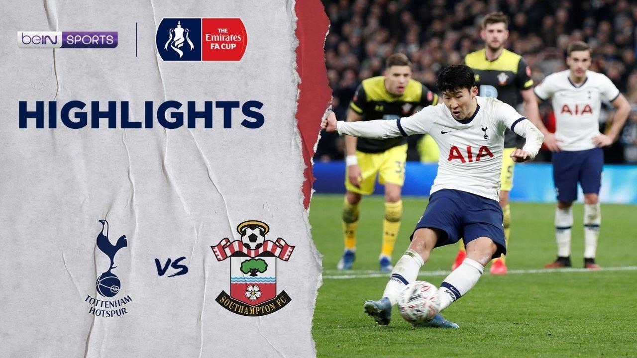 สเปอร์ส 3-2 เซาธ์แฮมป์ตัน | เอฟเอ คัพ ไฮไลต์ FA Cup 19/20