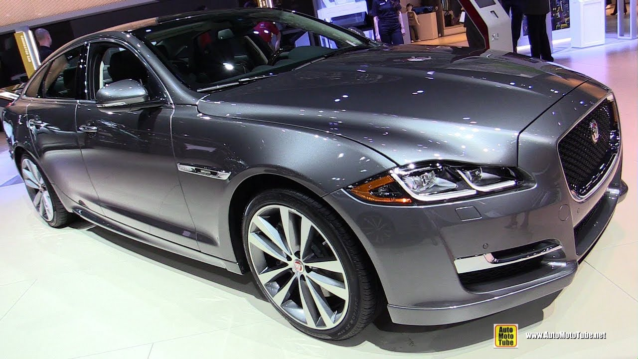 2018 jaguar xj exterior and interior walkaround 2017 la auto show youtube. Black Bedroom Furniture Sets. Home Design Ideas