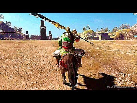 DYNASTY WARRIORS 9 - 15 Minutes of New Gameplay Demo PS4 (2018)