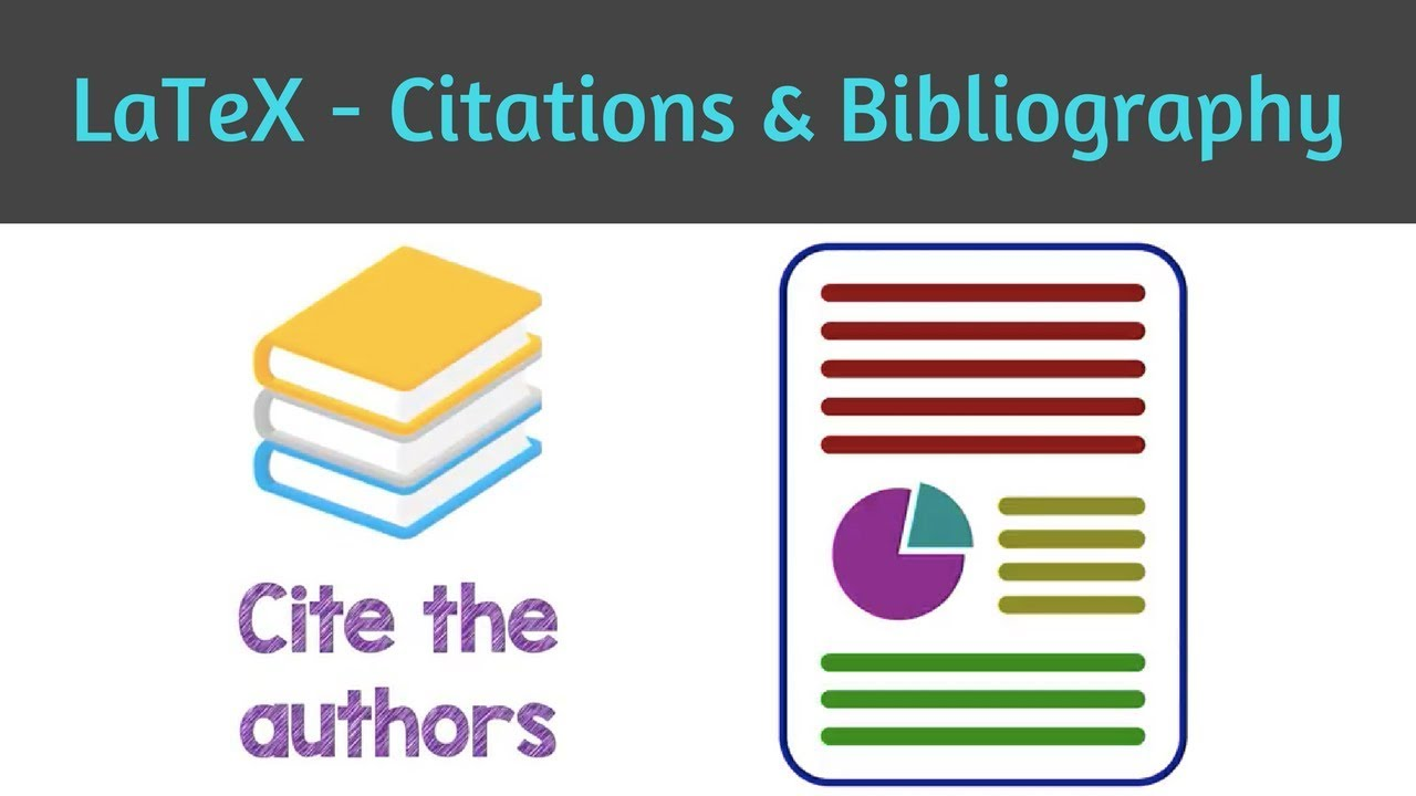 How To Cite In Latex Inserting Bibliography In The Document