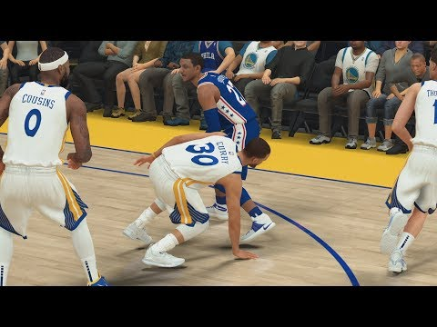NBA 2K19 My Career EP 57 - Warriors! 70 Points vs Curry!