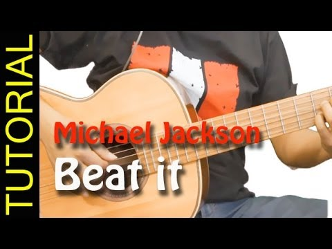 how to play Beat it  on guitar