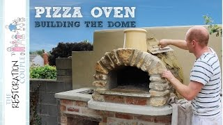 Outdoor Kitchen and Pizza Oven 5.0 | Building and Insulating the Dome