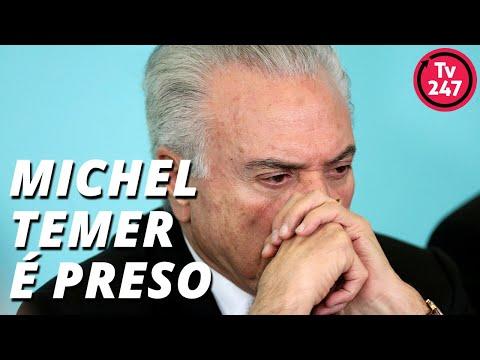 Preso Michel Temer