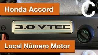 Dr CARRO Local Número Motor Honda Accord 3.0 Vtec