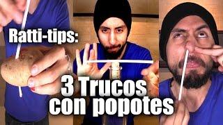 Ratti-Tips: 3 Trucos con Popotes - ChideeTv