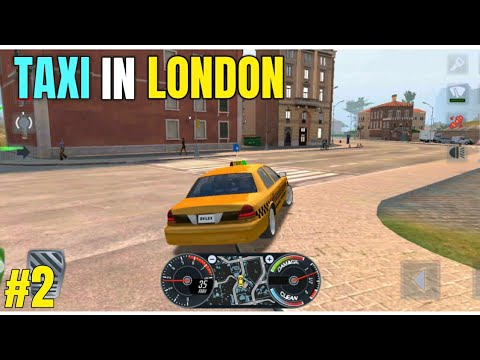 DRIVING TAXI IN LONDON | ANDROID TAXI OPEN WORLD GAME | TAXI SIMULATOR 2020 GAMEPLAY IN HINDI #2
