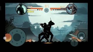 прохождение Shadow Fight 2    рысь побежден