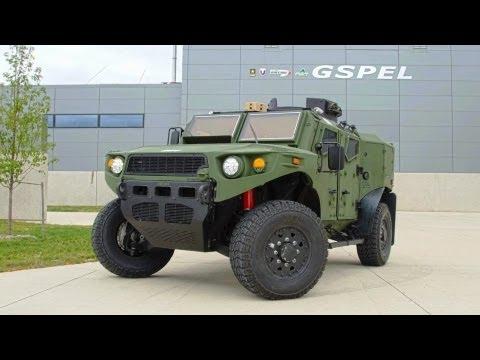 TARDEC - Ultra Light Vehicle (ULV) Research Prototype Advanced Testing Phase [1080p]