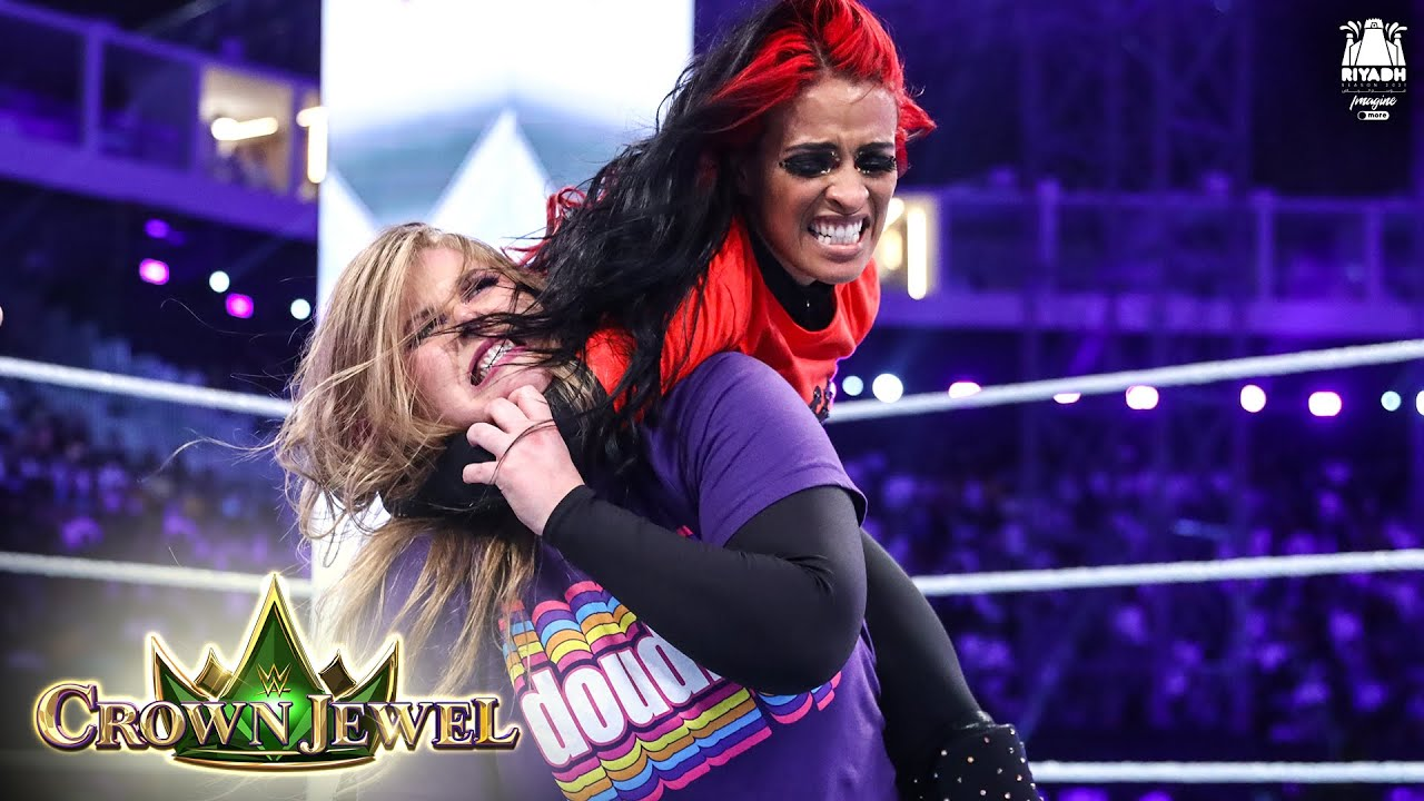 Download Doudrop and Vega battle it out for the Queen's Crown: WWE Crown Jewel 2021 (WWE Network Exclusive)