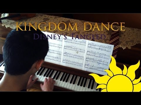 Kingdom Dance! - Tangled (Piano and hands Cover)