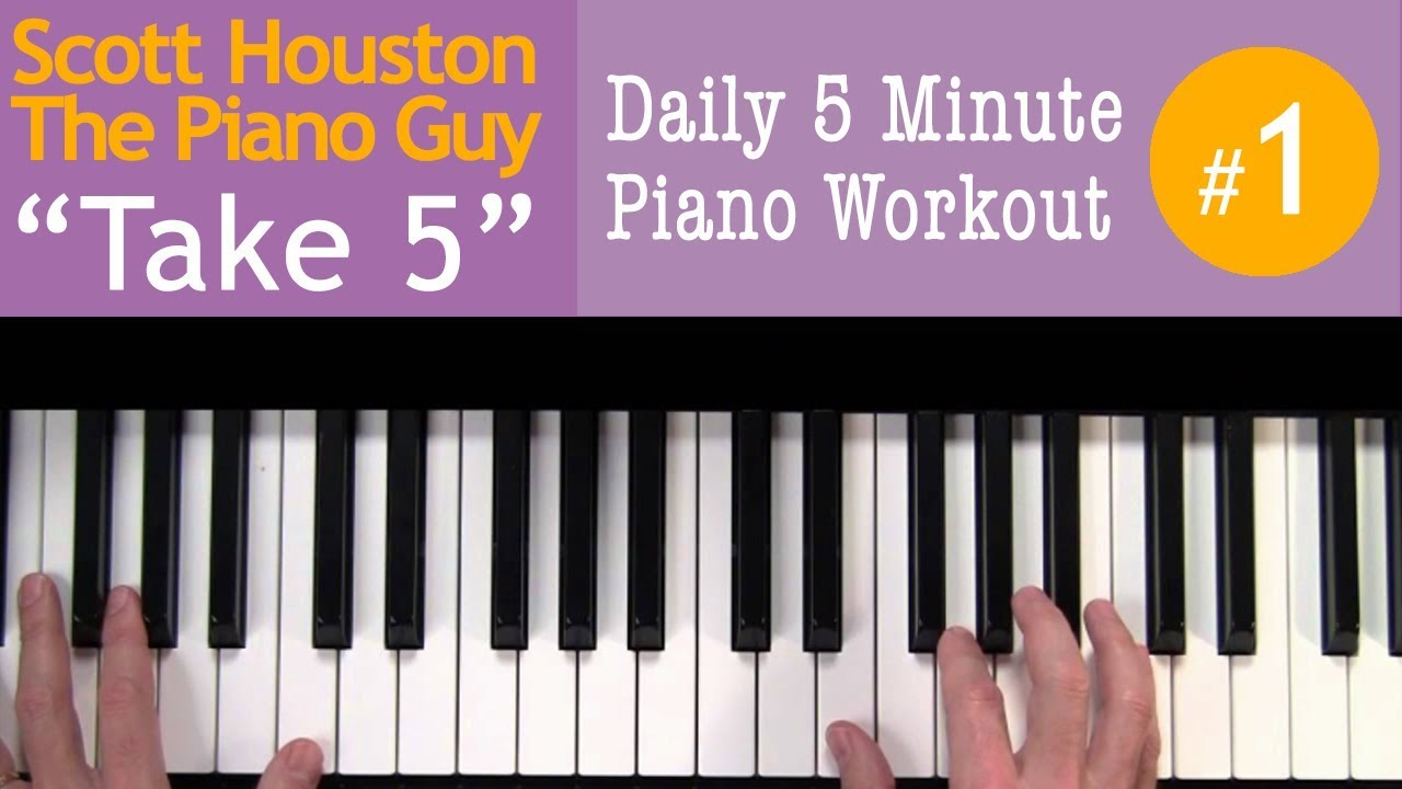 """Take 5"" Daily Piano Exercise #1"