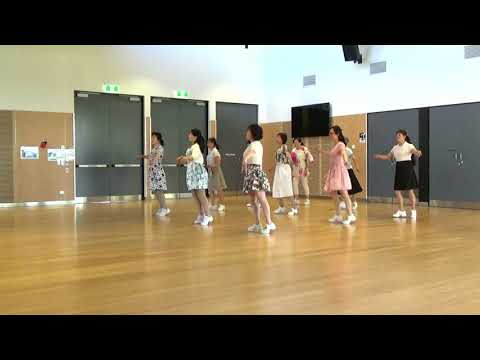 Spinning Wheel -Line Dance- (Demo by NZ Monday Vivace)