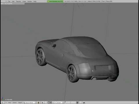 3D Audi TT - almost done?!