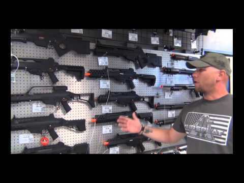 AirSplat Los Angeles Airsoft Retail Store - Guided Tour!