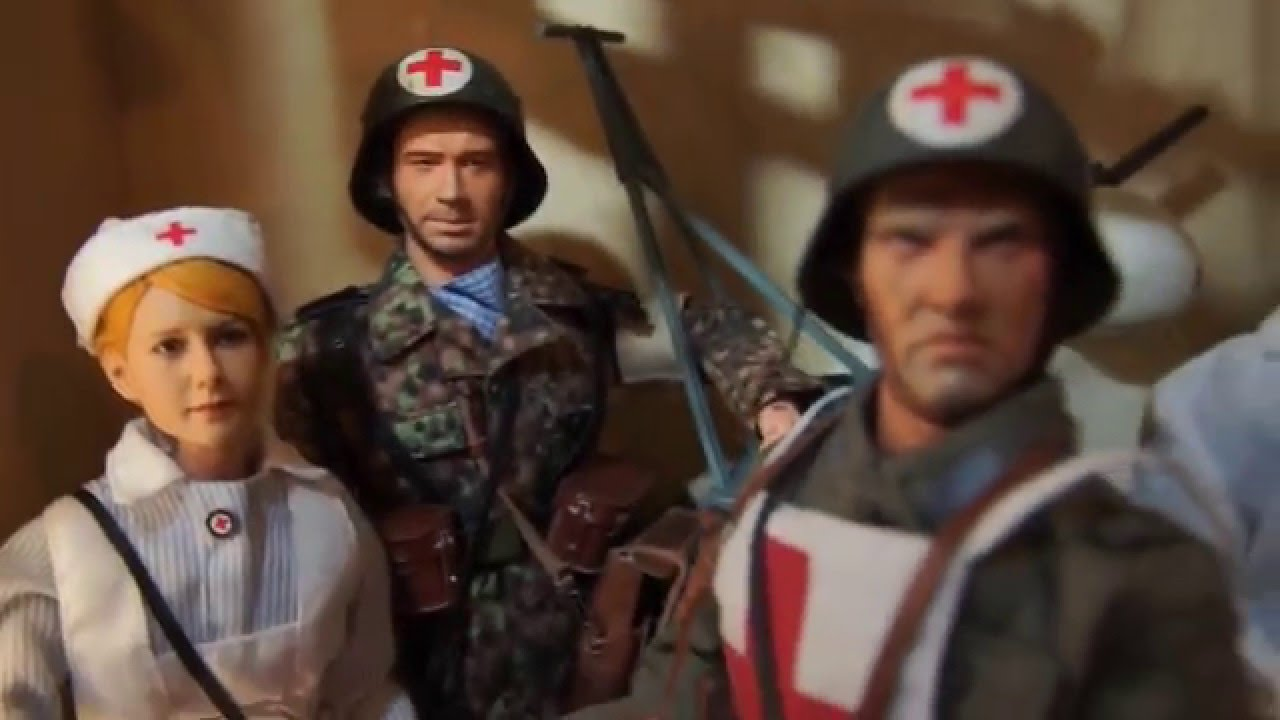 1 6 Scale Ww2 Action Figure Collection 2015 Youtube