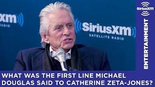 Michael Douglas had quite the line for Catherine Zeta-Jones