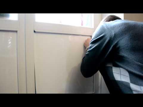 видео: Как разобрать и собрать пластиковое окно