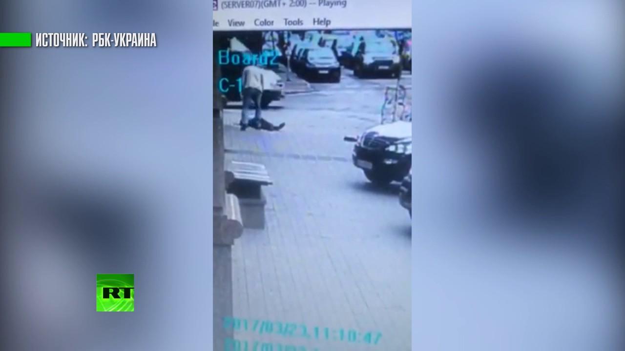 Видео убийства Вороненкова в Киеве