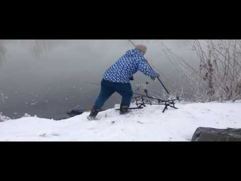 "Ловля карпа зимой на ""теплом канале"", Winter Carpfishing"