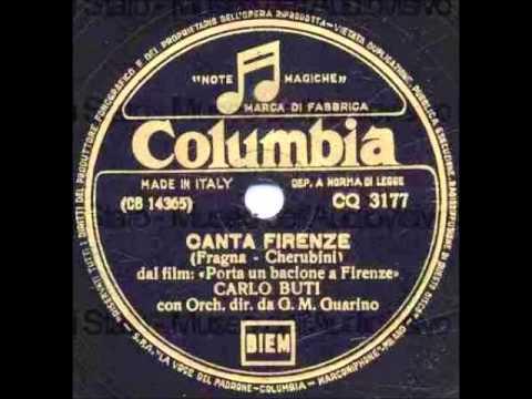 Carlo Buti -  Canta Firenze