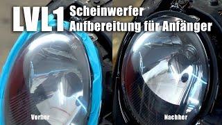 Gambar cover Matte Scheinwerfer aufbereiten für Anfänger - Lvl 1 I Presto Scheinwerfer-Aufbereitungs-Set
