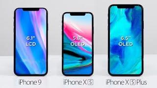 Презентация нового iPhone XS! Всё, что нужно знать про новые Айфоны 2018: iPhone 9 & XS & XS Plus