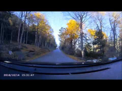 NH's Mt Washington Auto Road ascent & descent, Oct 14 2016