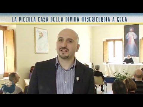 La piccola casa della divina misericordia a gela youtube for Piccola doccia della casa