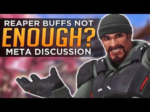 Overwatch: McCree & Reaper Buffs Not Enough?! - Meta Discuss