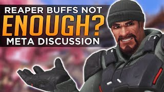 Overwatch: McCree & Reaper Buffs Not Enough?! - Meta Discussion